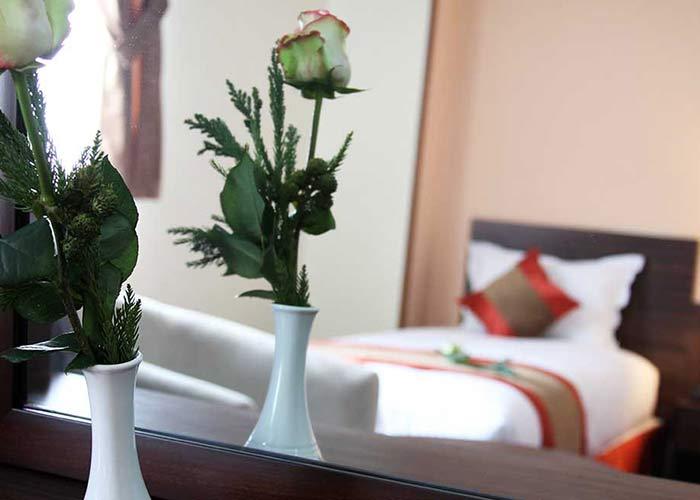 اتاق هتل حجاب تهران