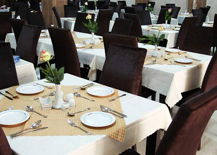 رستوران هتل حجاب تهران