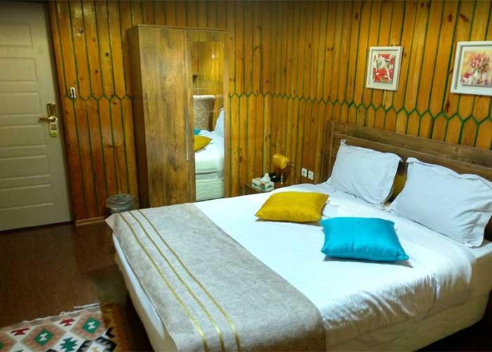 اتاق دو تخته هتل هدهد اسالم