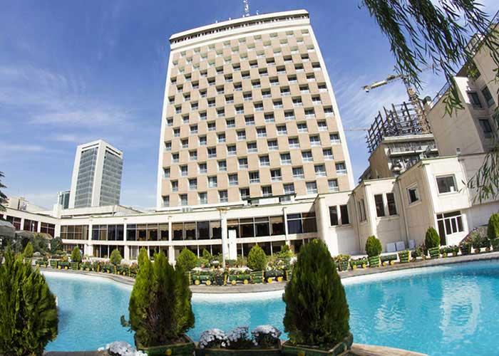 ساختمان هتل هما تهران