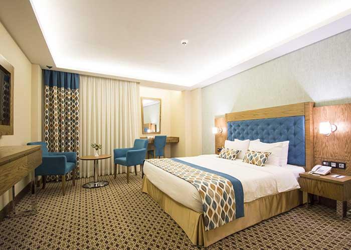 اتاق دو تخته دبل هما کلاس هتل هما تهران