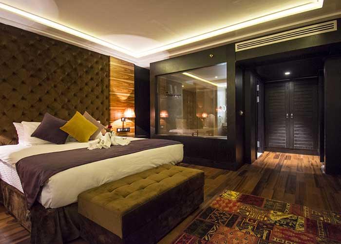 اتاق سوئیت هما کلاس هتل هما تهران