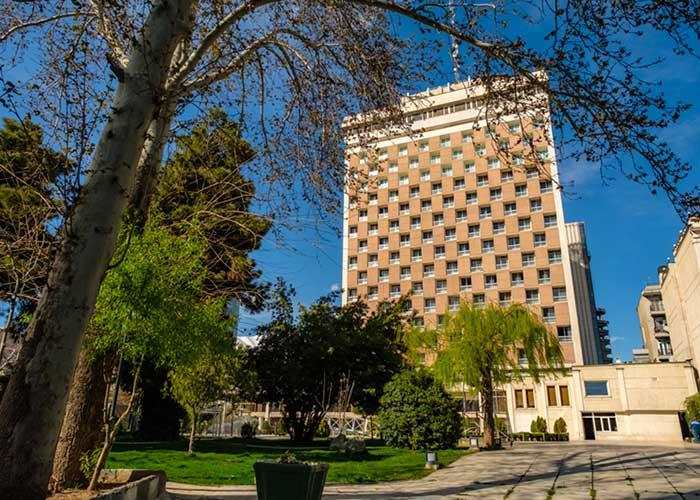 عکس ساختمان هتل هما تهران