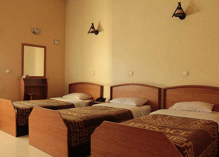 تصاویر اتاق های هتل همام اصفهان