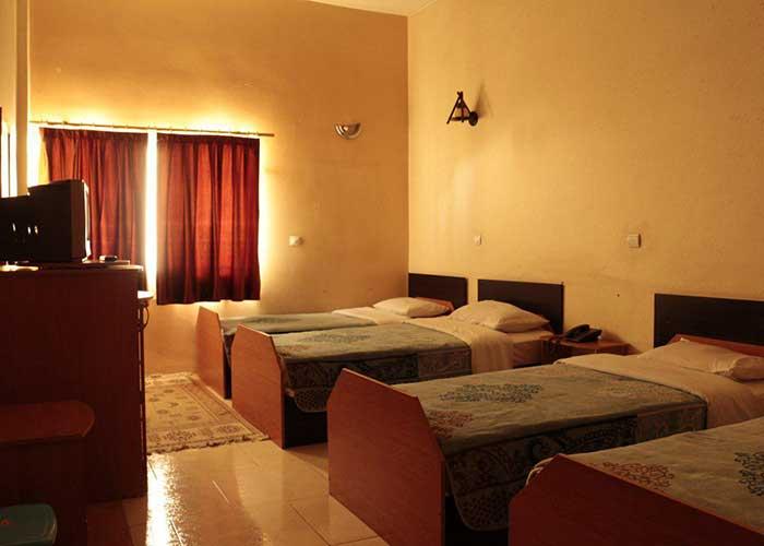 اتاق چهار تخته هتل همام اصهفان