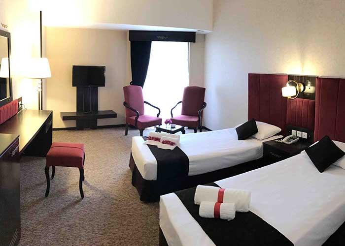 اتاق دو تخته توئین هتل هرمز بندر عباس
