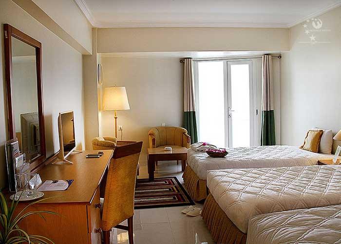اتاق سه تخته هتل هرمز بندر عباس