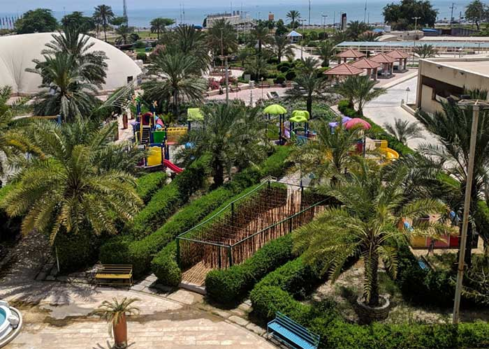 باغ هتل هرمز بندر عباس