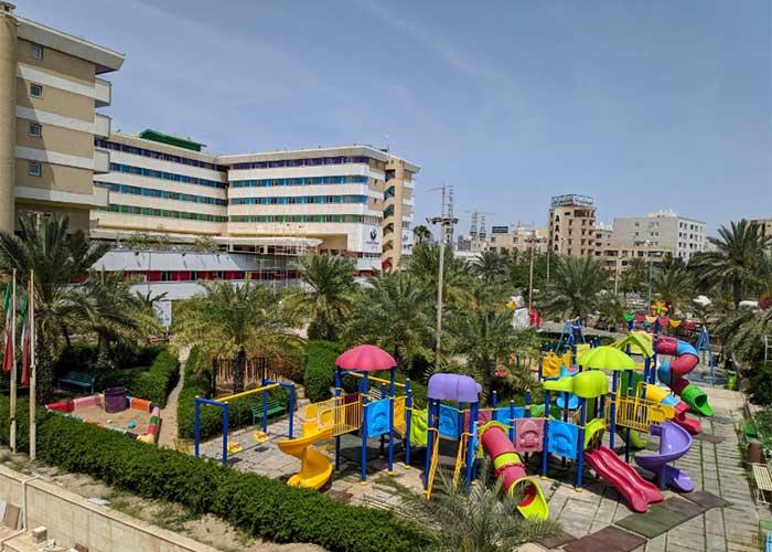 پارک کودکان هتل هرمز بندر عباس