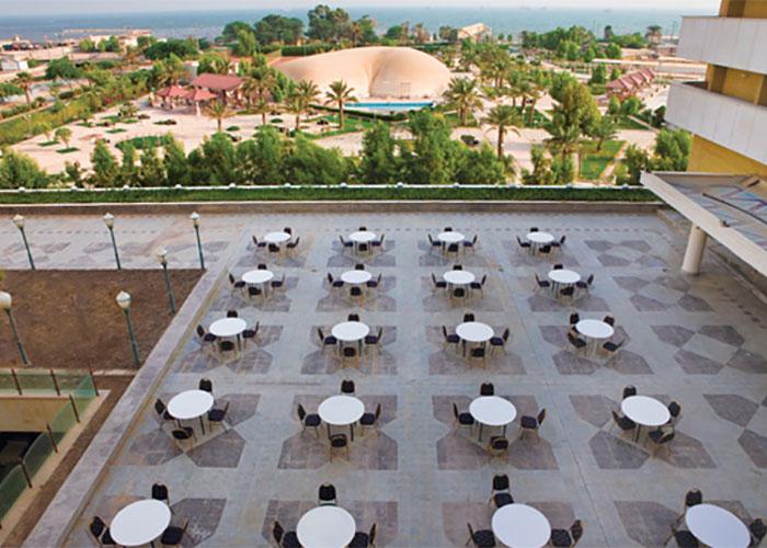 رستوران دریا هتل هرمز بندر عباس