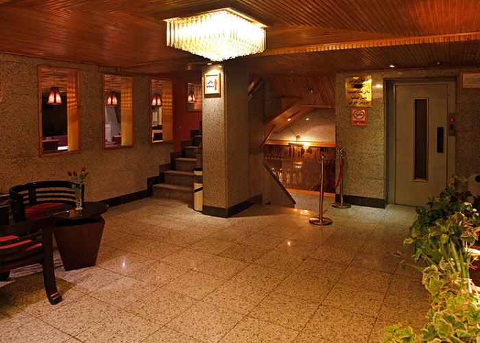 راهرو هتل امیر تهران