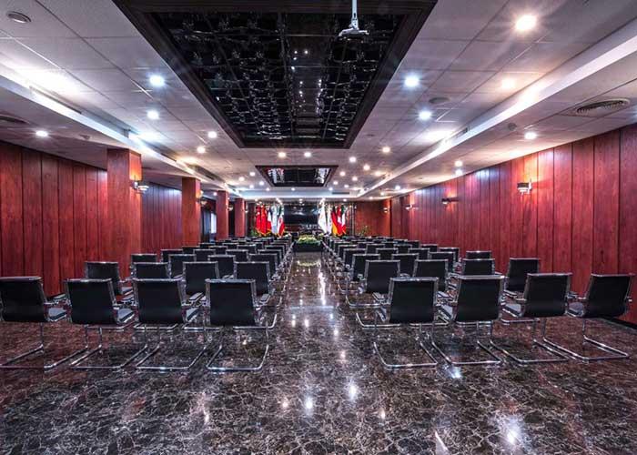 سالن ملل هتل هویزه تهران