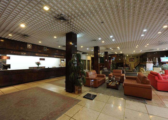 پذیرش هتل هویزه تهران