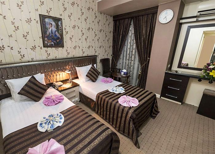 اتاق دو تخته توئین هتل بین المللی تبریز