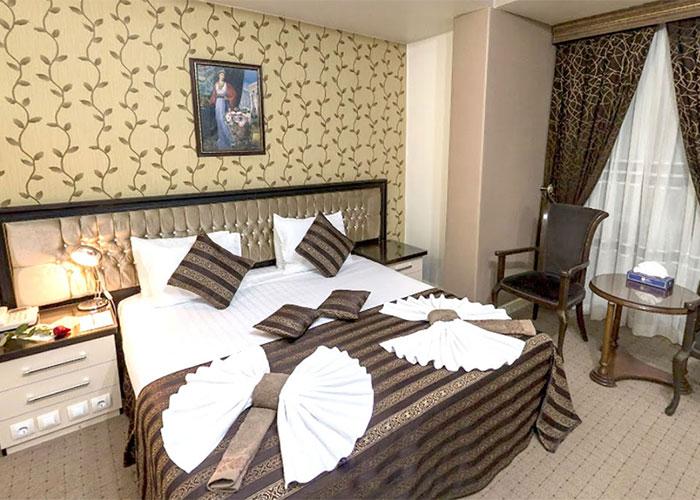 اتاق دو تخته دبل هتل بین المللی تبریز