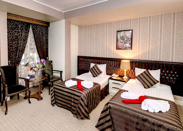 اتاق دو تخته هتل بین المللی تبریز