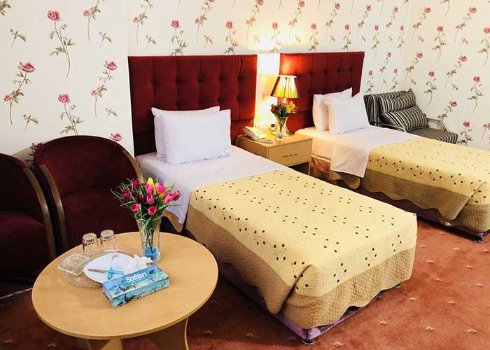 اتاق دو تخته هتل ایران تهران