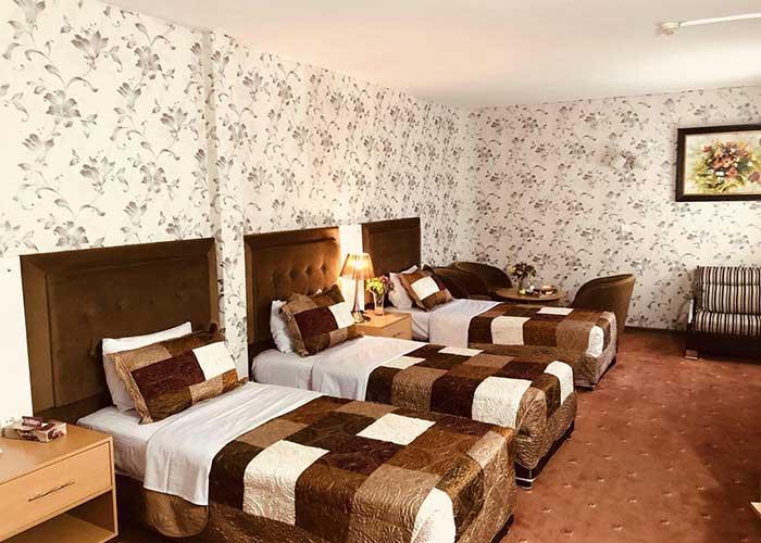 اتاق سه تخته هتل ایران تهران