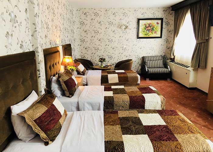 سه تخته هتل ایران تهران