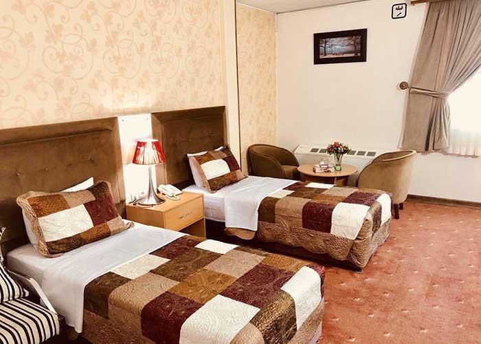 دو تخته هتل ایران تهراان