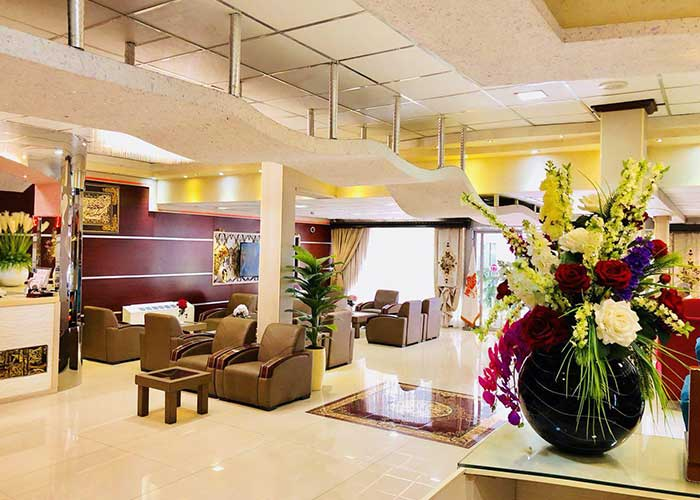 لابی هتل ایران تهران