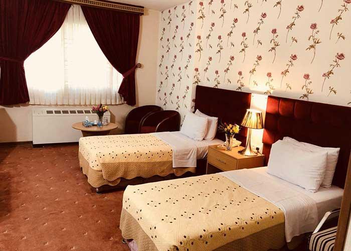 دو تخته توئین هتل ایران تهران