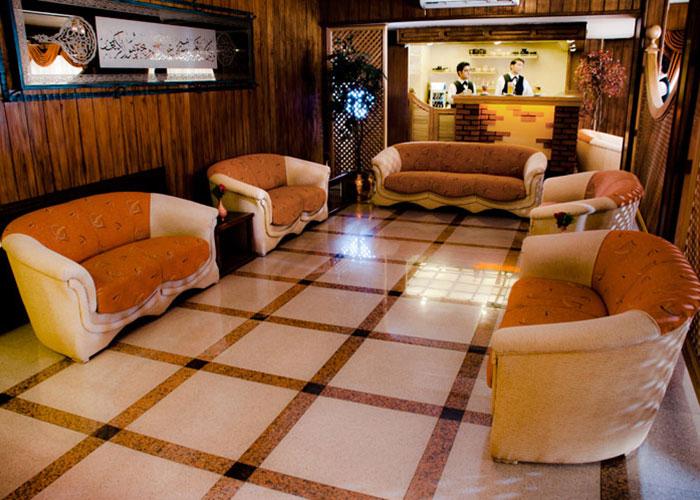 پذیرش هتل ایرانشهر تهران