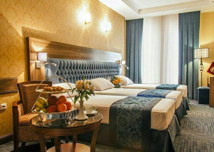 هتل مجلل ایران زمین مشهد