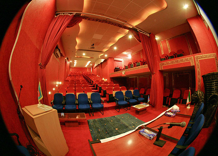 سالن همایش هتل جام جم شیراز