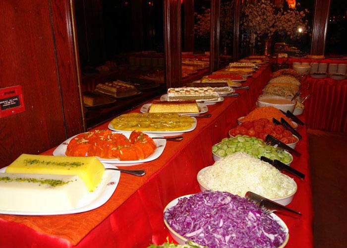 بوفه هتل جام جم شیراز