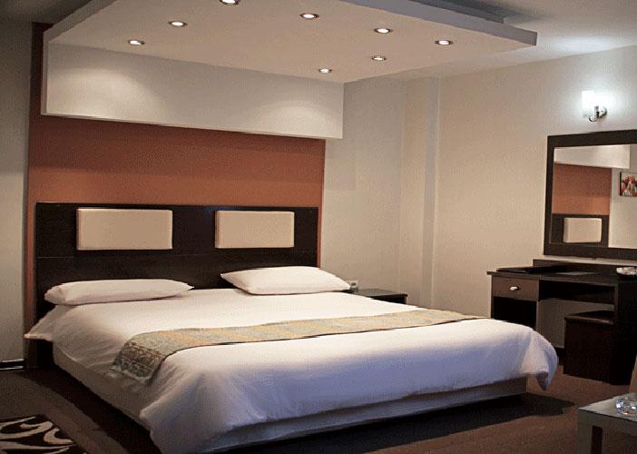 تصاویر اتاق هتل جهان تهران