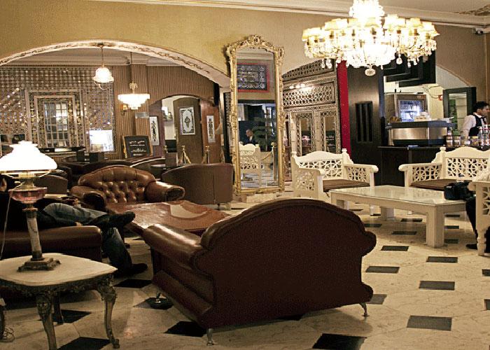 کافی شاپ هتل جهان تهران