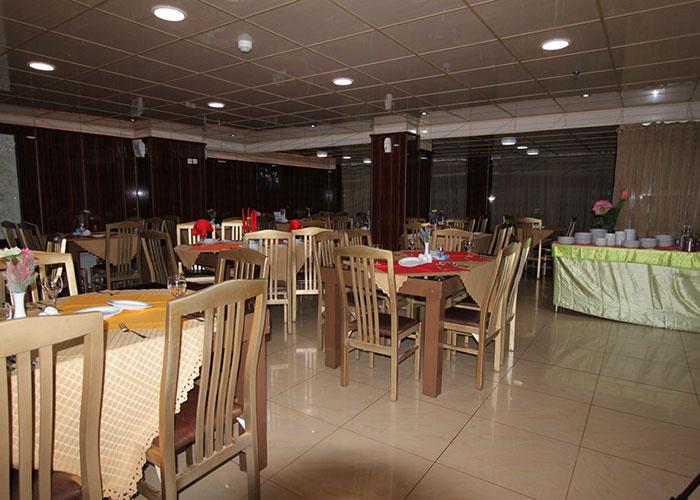 رستوران هتل ماهان اصفهان