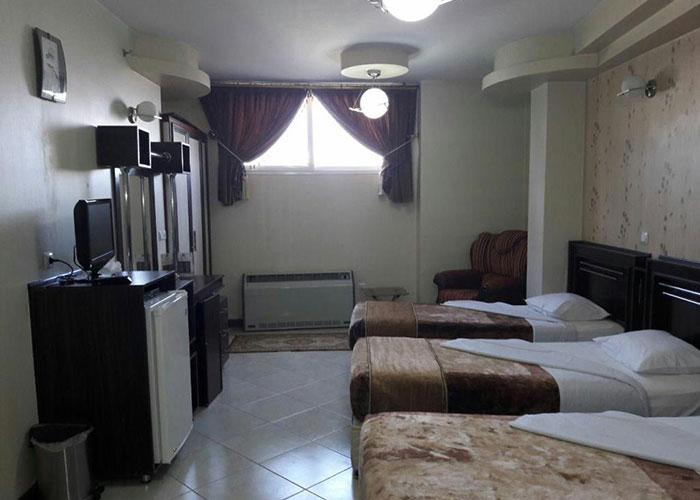 اتاق سه تخته هتل ماهان اصفهان