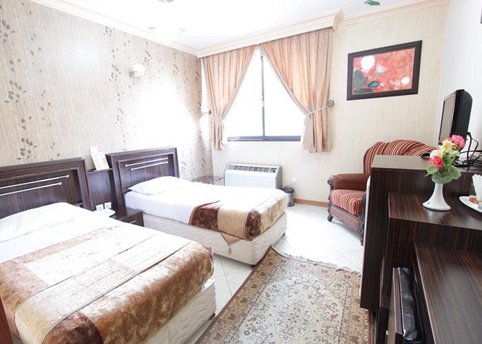 اتاق دو تخته هتل ماهان اصفهان