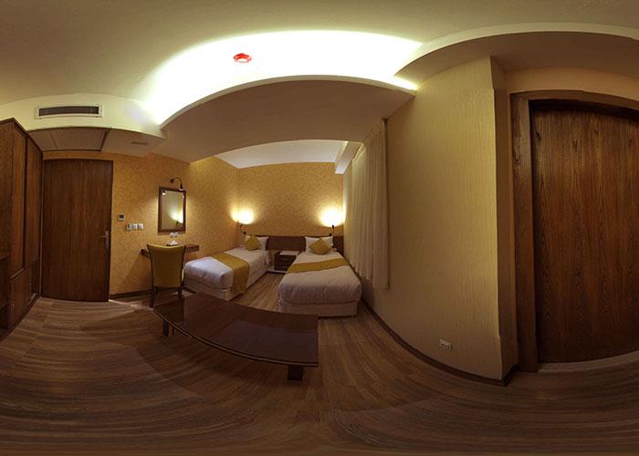اتاق هتل آپارتمان جهان نما