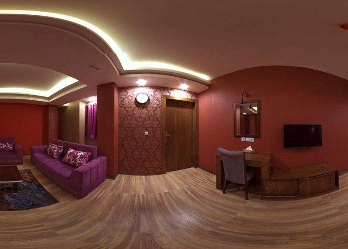 اتاق هتل آپارتمان جهان نما شیراز