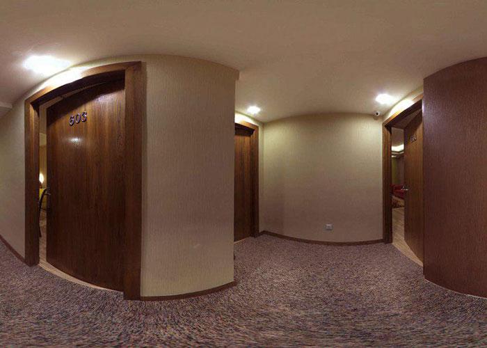 راهرو هتل آپارتمان جهان نما شیراز