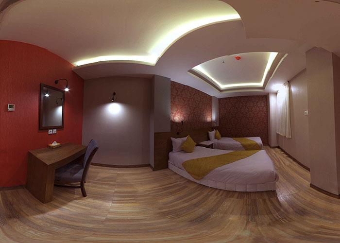 تصاویر اتاق هتل آپارتمان جهان نما شیراز