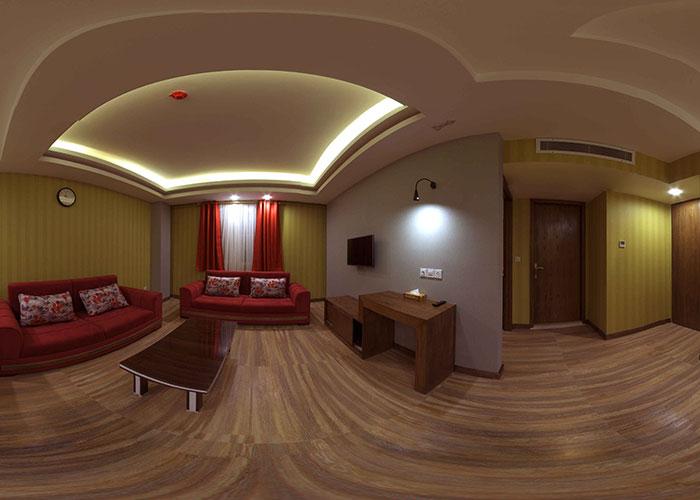 عکس اتاق هتل آپارتمان جهان نما شیراز