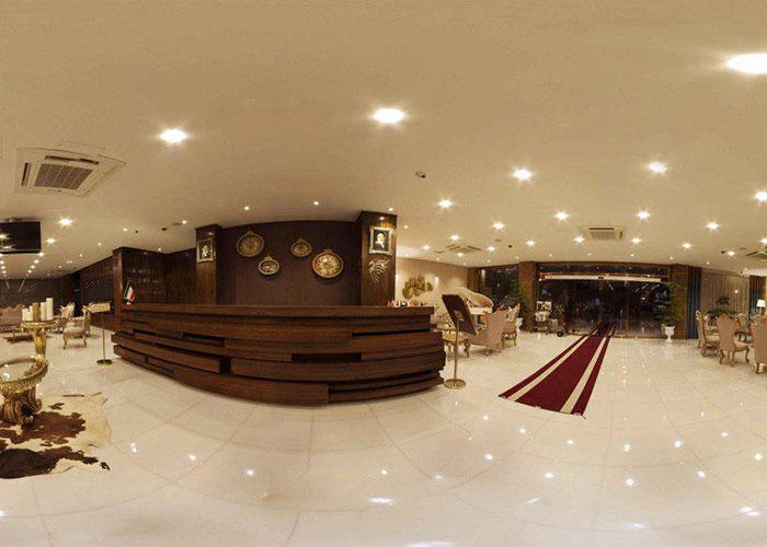 لابی هتل آپارتمان جهان نما شیراز