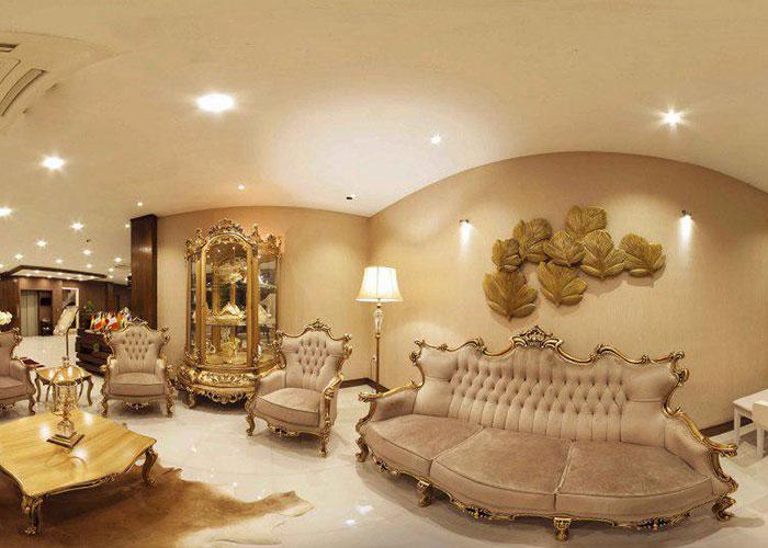 عکس لابی هتل آپارتمان جهان نما شیراز