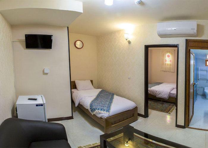 اتاق هتل جام فیروزه اصفهان