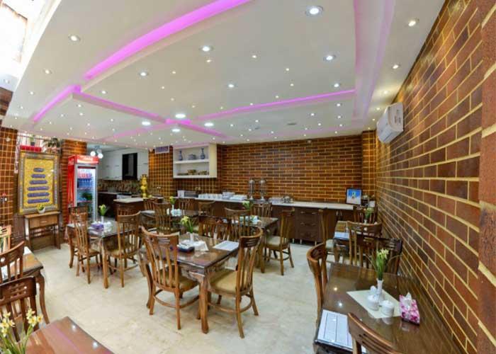 رستوران هتل جام فیروزه اصفهان