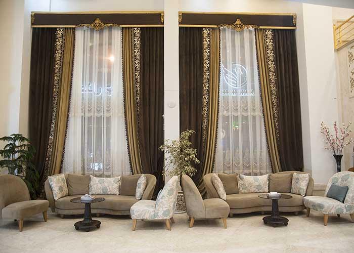 عکس لابی هتل جمیل قم