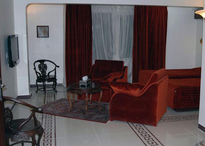 اتاق هتل چهل پنجره اصفهان