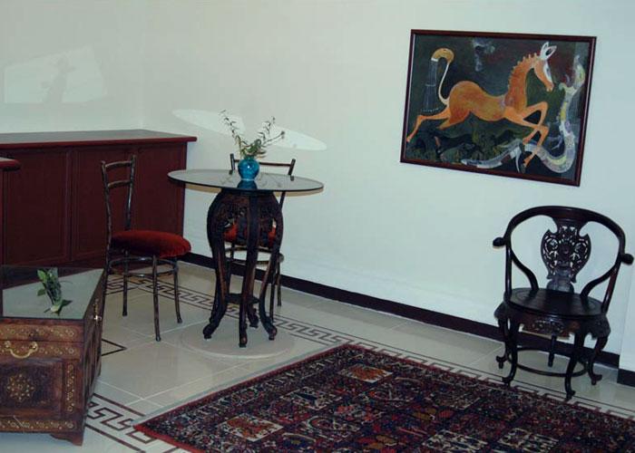 اتاق هتل آپارتمان چهل پنجره اصفهان