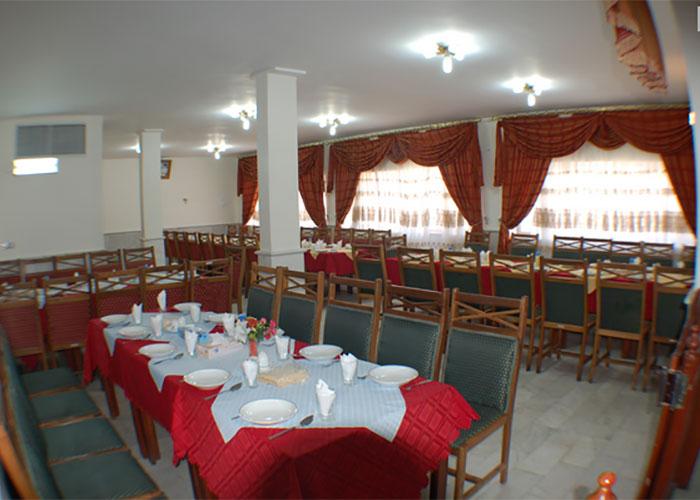 رستوران هتل جهانگردی جلفا