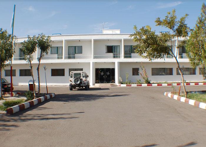 ساختمان هتل جهانگردی جلفا