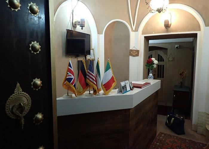 پذیرش هتل سنتی خوان دوحد یزد